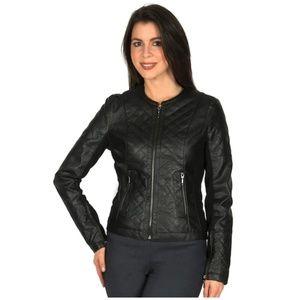 Harve Benard Faux Leather Jacket